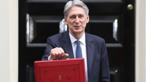 Philip Hammond delivers the August 2017 Government Budget, which covers fire safety and fire prevention. Image: Dan Kitwood/Getty Images